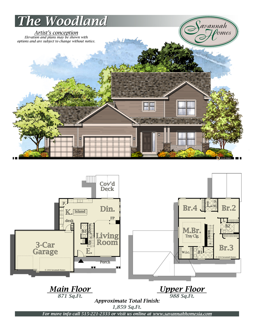100 Woodland Homes Floor Plans Wl 6806b Deer Valley